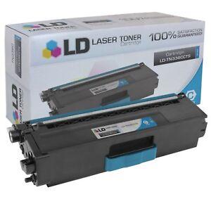 Brother TN336BK TN336M TN336C TN336Y Color Laser Toner Cartridge Bundleor La