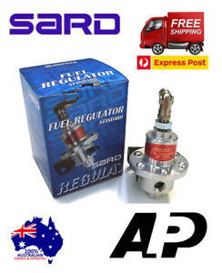 SARD-RACING-FUEL-PRESSURE-REGULATOR-SILVER-100-AUTHENTIC