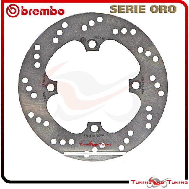 DISCO DE FRENO TRASERO BREMBO SERIE ORO PARA HONDA CBR F 600 1991 1992  68B40749