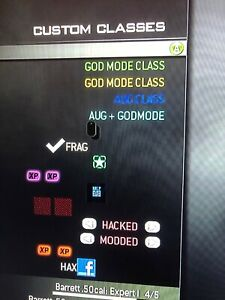Details about Call of Duty Modern Warfare 3 MW3 God Mode Classes Mod XBOX  ONE [READ DESC]