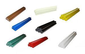 5-x-11-mm-Klebesticks-Heisskleber-transparent-o-farbig-200-mm-Heissklebepistole