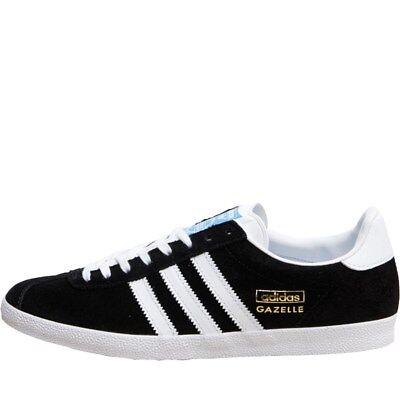 Adidas Gazelle OG, G13265, Black/White UK Mens sizes 7 - 12 Inc half sizes | eBay
