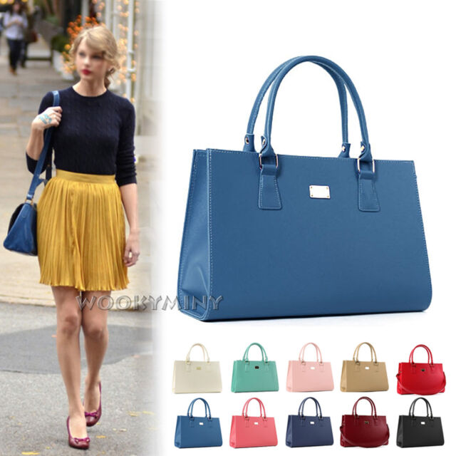 New Korean Fashion Women Handbag Ladies Shoulder Tote Bag Cross Body Bag Satchel