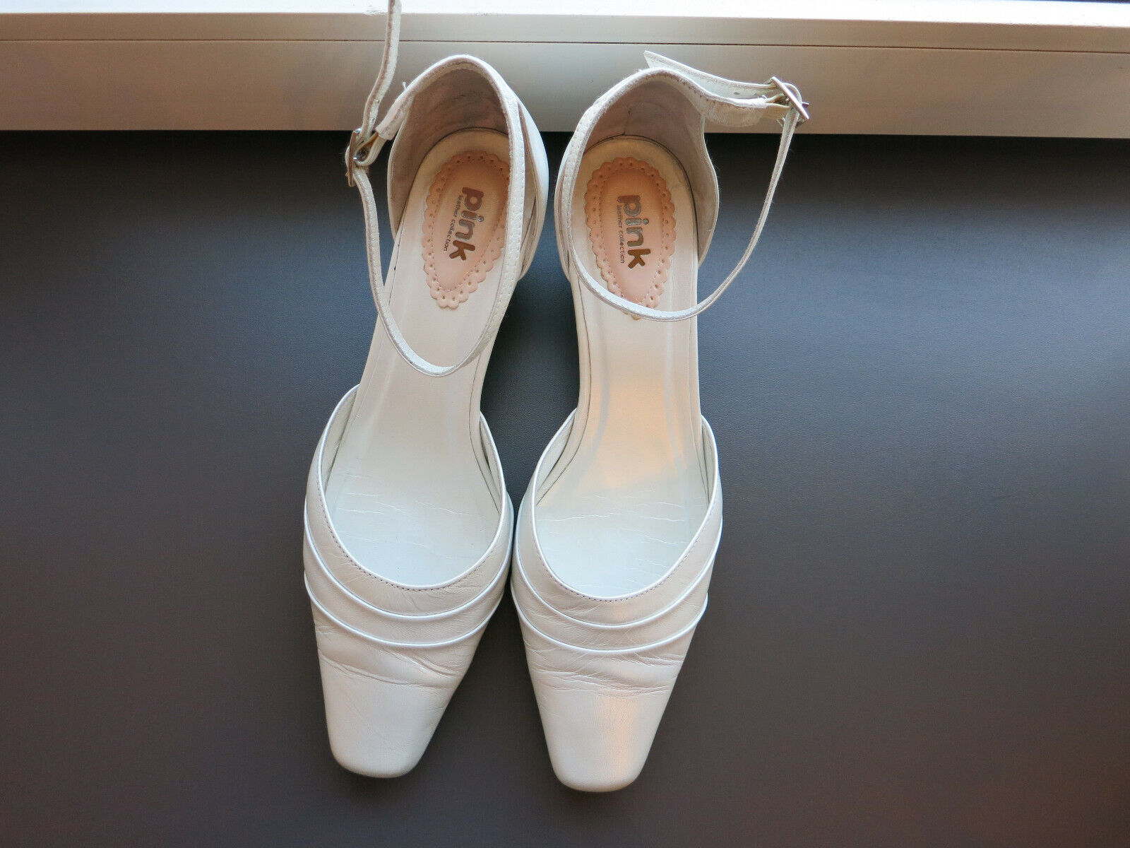❤❤❤ Bridal Shoes Wedding Size 40 in Ivory by Pink Paradox London ❤❤❤