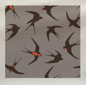 Printed Fabric Panel Make A Cushion Upholstery Craft Owl Bird