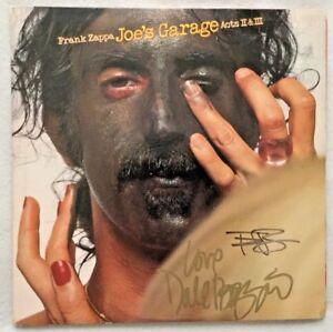 Autographed-Frank-Zappa-Joe-s-Garage-Acts-II-amp-III-Vinyl-Dale-amp-Terry-Bozzio