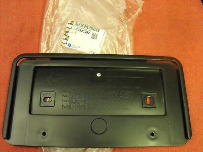 OEM NEW Front License Plate Mounting Bracket 2005-2007 Buick LaCrosse 10333992