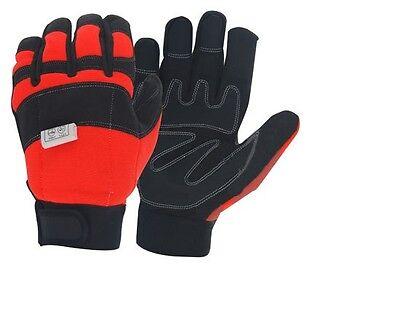 """Precise Schnittschutzhandschuh Forsthandschuhe """"sommer"""" Für Kettensäge Selected Material Handschuhe"""