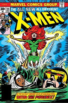 True Believers Enter The Phoenix, Uncanny X-Men 101, 1st App of Phoenix