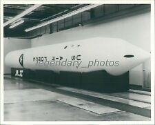 Full-Scale Mockup of Mobile M-X ICBM Original News Service Photo