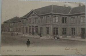 Lione-69-Cartolina-Gare-Dei-Brotteaux-Bon-Stato-Animata-1903