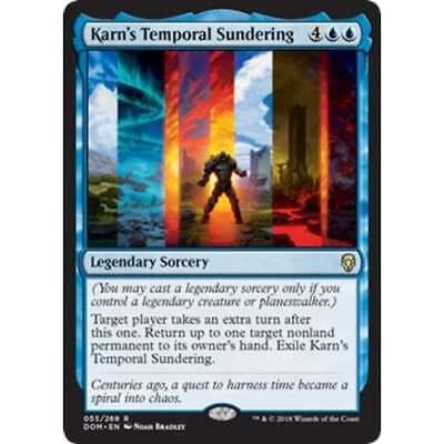MTG Dominaria Karn/'s Temporal Sundering