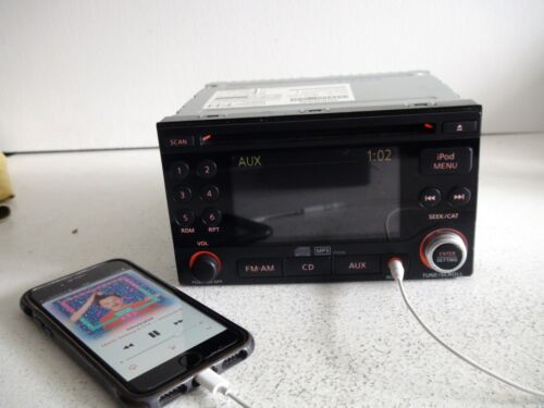 Nissan Rogue 2011 2012 CD MP3 player AUX iPod 4.3 color display TESTED