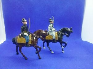 John-Hill-Co-Lead-Toy-Union-And-Confederate-Cavalry