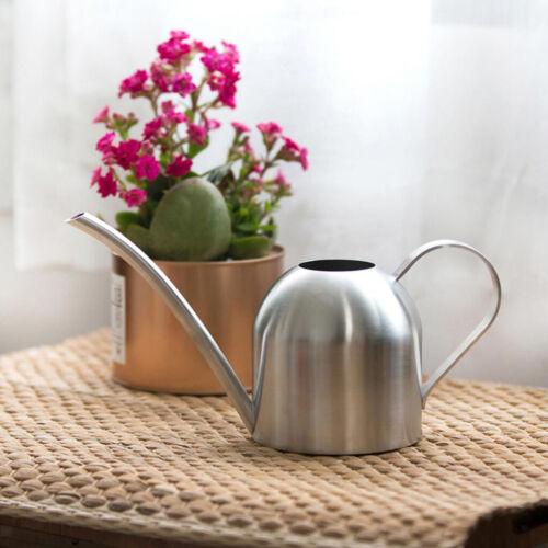 500ml Edelstahl Gießkanne Blumengießkanne Edelstahl für Pflanzen