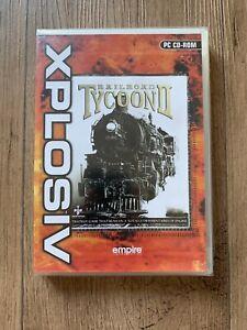 Railroad Tycoon 2-Xplosiv Range (PC: Windows, 2001) - NEU und versiegelt