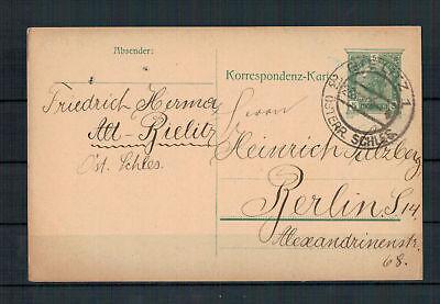 Liberal Austria Silesia bielitz Nach Berlin 26.09.1908 By Old