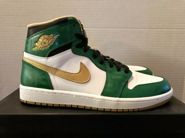 promo code 562b2 be465 Nike Air Jordan 1 Retro High OG 10.5 New DS 555088 315 Clover Celtics Irish  ND