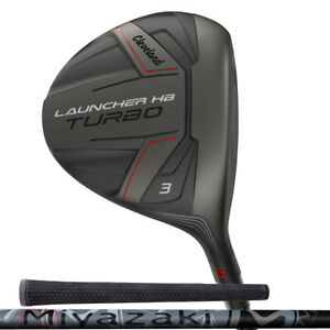 New 2020 Cleveland Launcher HB Turbo Fairway Wood - Choose Your Loft and Flex