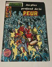 """Les micronautes """" au plus profond de la peur , 1981 french artima HC # 10"""