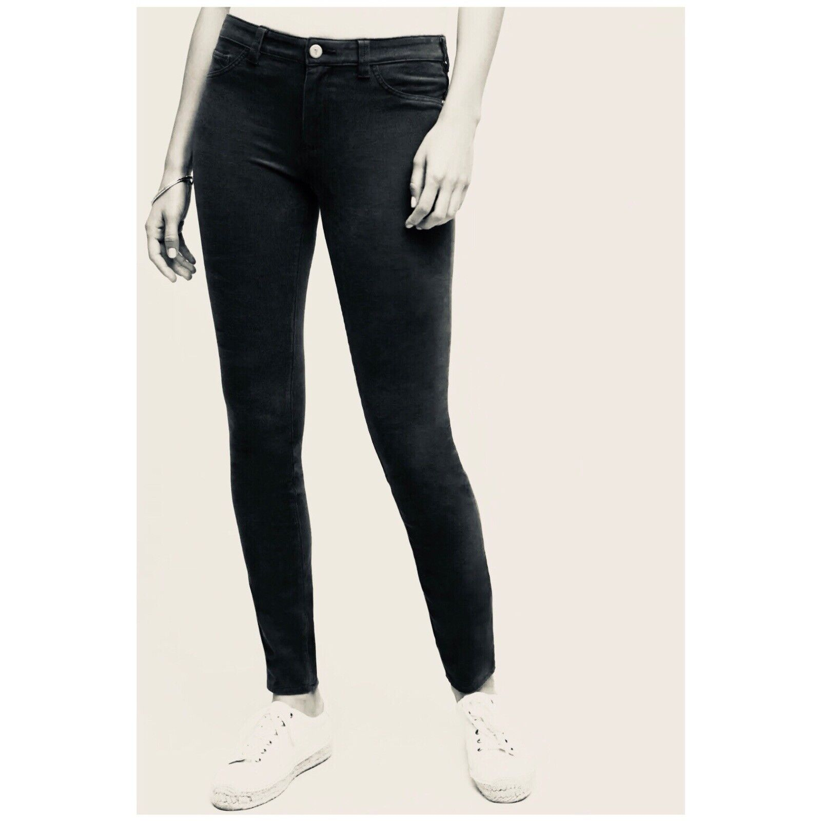Anthropologie Pilcro and the Letterpress Legging Woman Size 27 Corduroy Jeans
