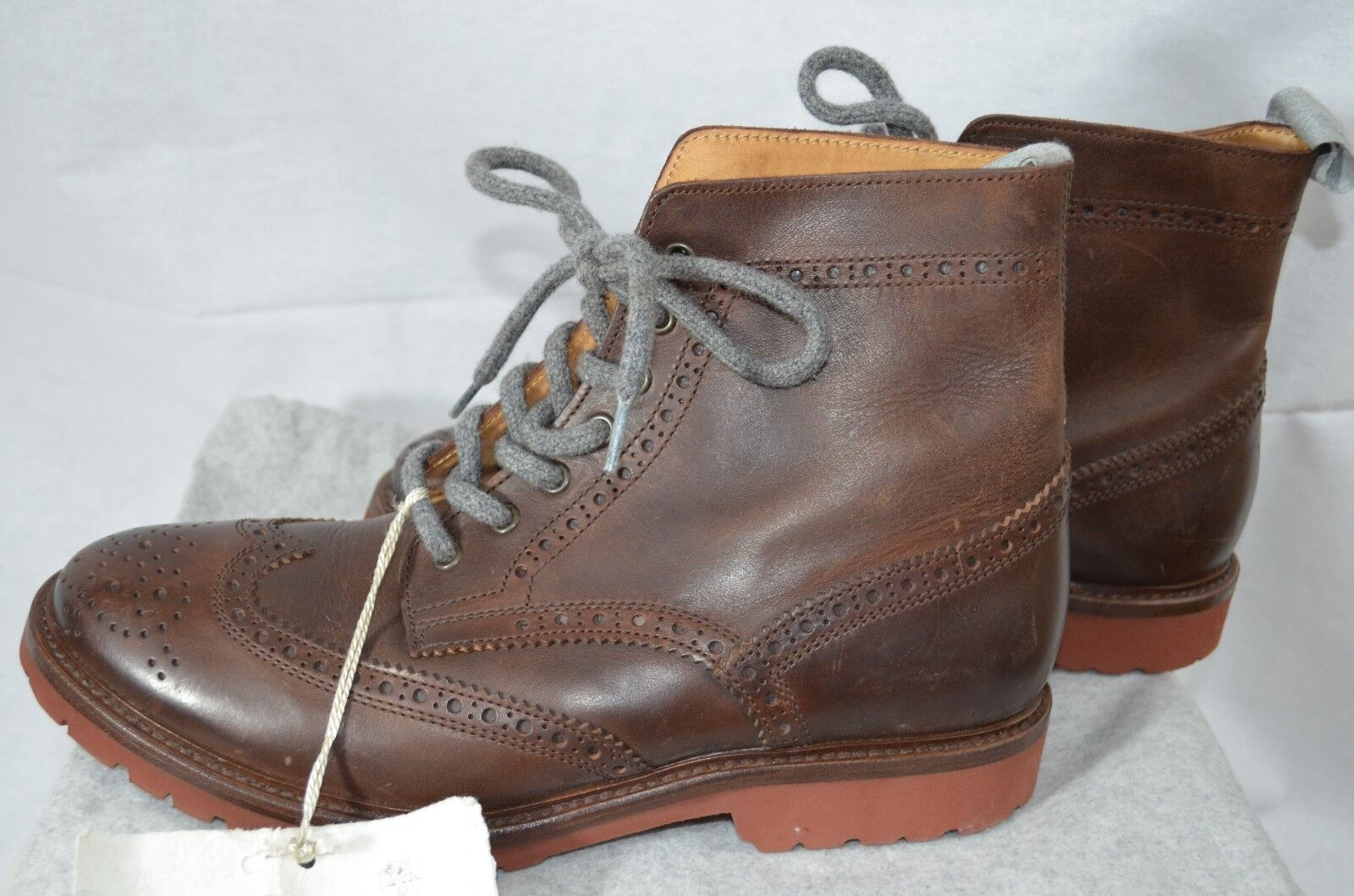 Brunello Cucinelli Brogue botas Sz 42\US 9