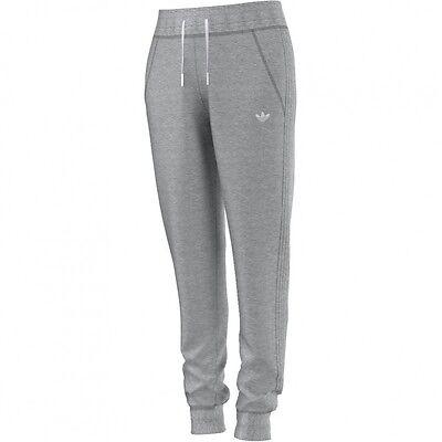 adidas Originals Slim Trackpant Cuffed Trainingshose Damen grau [AB2433] |  eBay