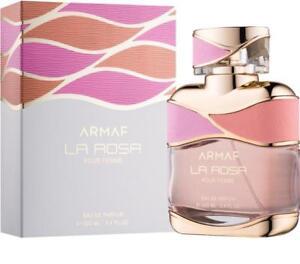 fa3e651d0e Details about NEW ARMAF LA ROSA POUR FEMME EAU DE PARFUM FOR WOMEN WITH  FREE SHIPPING - 100 ML