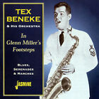In Glenn Millers' Footsteps: Blues Serenades & Marches by Tex Beneke (CD, May-2001, Jasmine Records)
