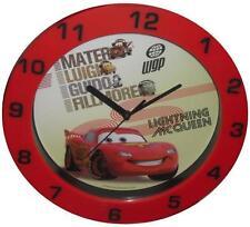 Wanduhr Cars Kinder Lernuhr Kinderuhr Uhr Wanduhr Rot Groß NEU