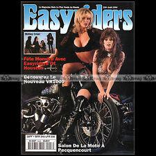 EASYRIDERS N°254 CUSTOM BIKE & HARLEY-DAVIDSON ★ POSTER DAVID MANN ★ FRENCH 1994