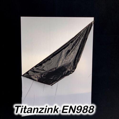 Kupfer Messing Titanzink Bleche auf Wunschmaß 0,5 0,7 1,0 mm KOSTENLOSER VERSAND