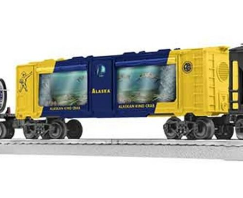 Details about  /LIONEL 2023150-A ALASKA KING CRAB AQUARIUM CAR O GAUGE TRAIN MOTORIZED NEW