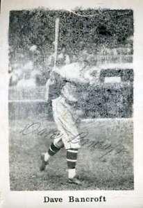 Dave-Bancroft-Jsa-Coa-Autograph-Photo-Hand-Signed-Authentic
