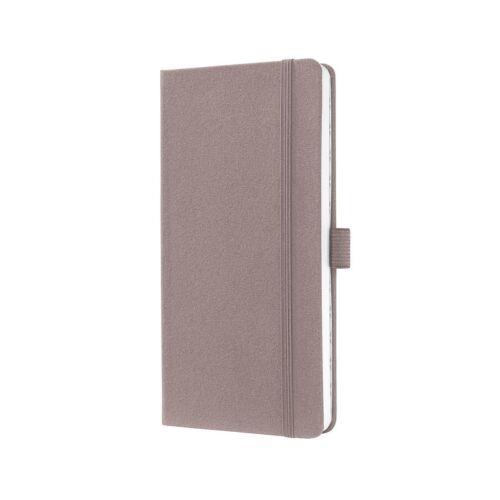 Sigel Notizbuch liniert JN504 Jolie® Design rose brown 174S Hardcover ca A6 NEU