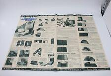 alte Reklame Preisliste Soennecken ca. 1940 #H291