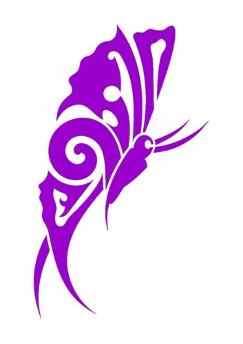 350 micron Mylar not thin stuff #TaT0121 Side View Flying Butterfly Stencil