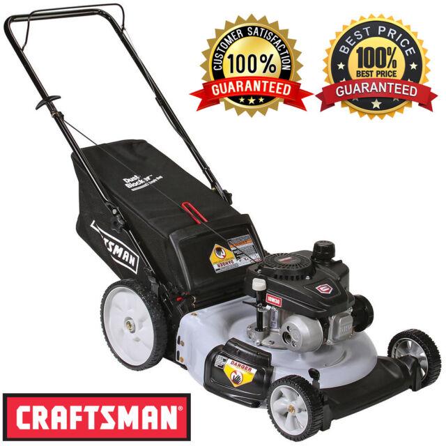 Craftsman Lawn Mower 21 In Rear Bag Mulcher Pro 140cc Ohv Gas Engine