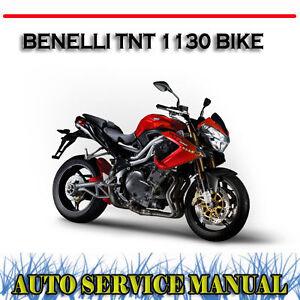 benelli tnt 1130 tre k bike workshop service repair owner s rh ebay com au benelli tnt 600 workshop manual benelli tnt 899 workshop manual