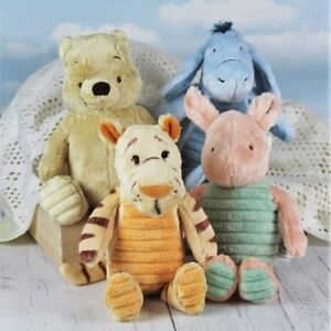 Winnie-the-Pooh-Tigger-Eeyore-and-Piglet-Pastel-Plush-Toys-Soft-Toys-M