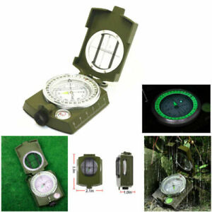 US Army Pocket Military Geology Compass Professional Hiking Camping Survival