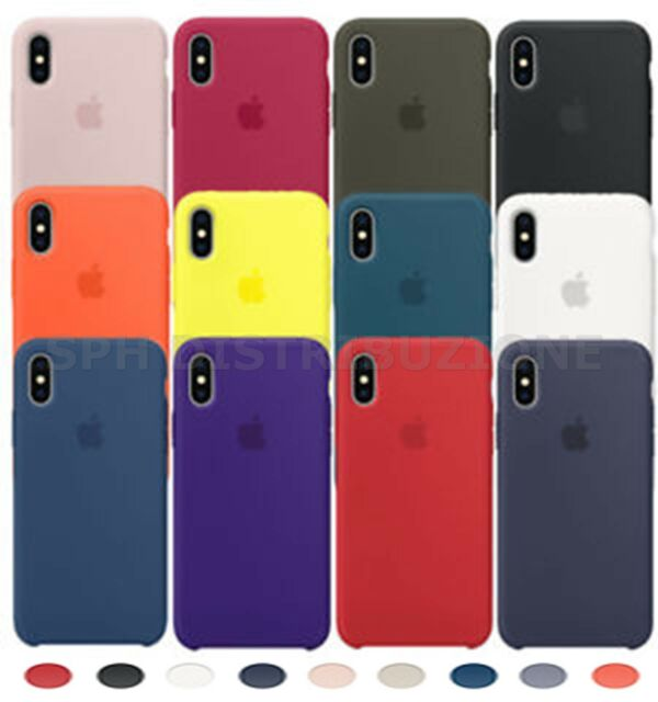 COVER CASE BUMPER MORBIDA CUSTODIA IN SILICONE SOFT GEL PER APPLE IPHONE X - XS