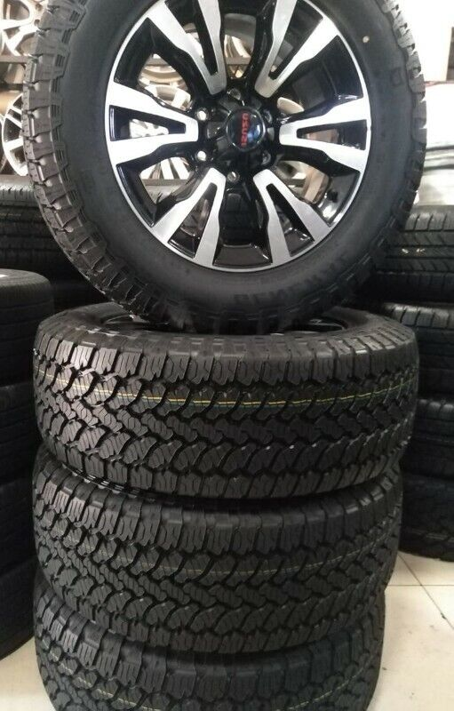 18inch Isuzu X-Rider mags with brand new 255/60/18 General Grabber AT3 set for R13999.