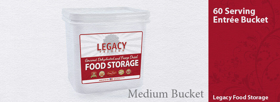 Legacy  60 Serving Grab and Go Breakfast, Lunch, & Dinner Emergency Storage Meals  discount