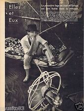 Coupure de presse Clipping 1958 Juliette Gréco   (1 page)