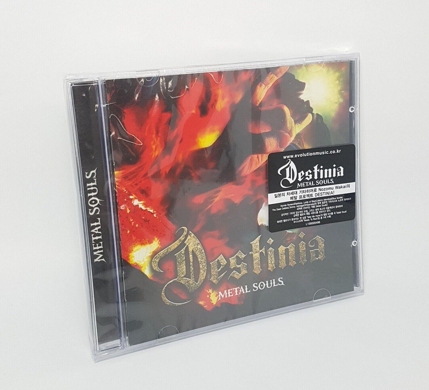 DESTINIA - Metal Souls 1cd Korea Edition