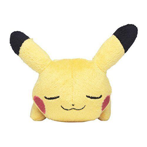 Pokemon Center Original Plush Doll Kuttari Sleeping Goodnight Pikachu Stuffed