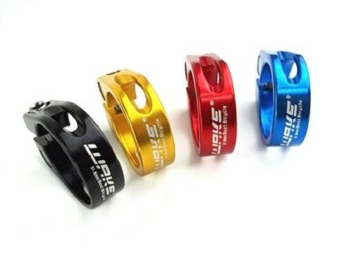 31.8 mm//34.9 mm various colors Saddle closure for Bicycle