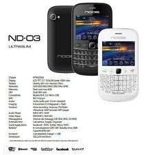 """Telefono Cellulare Querty Nodis ND-03 ultrasottile Dual Sim/LCD 2.3""""/GSM/MP3"""