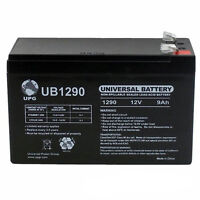 Upg 12v 9ah Sla Battery Replacement For Cyberpower Cp685avr / Bf685 Ups on Sale
